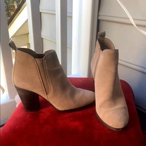 Michael Kors Brandy Suede Ankle Bootie